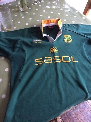 South Africa Child's Rugby Shirt,made In South Africa