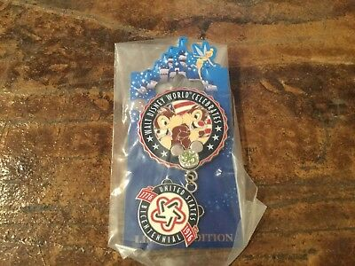 disney pin wdw 35 th anniversary magical milestones le 2500 Chip and dale 1976