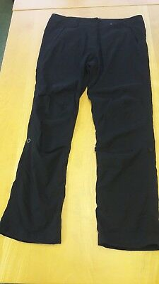 New Peter Storm black cargo trousers. Size 16r