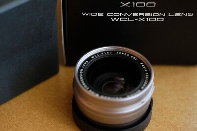 Fujifilm WCL-X100 silver - Wide Conversion Lens
