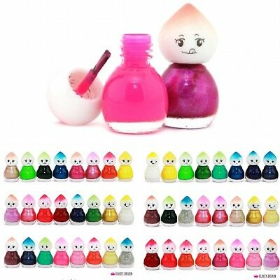 Baby doll nail polish varnish in box of 24 or 6 8 10 12 joblot wholesale bulkbuy