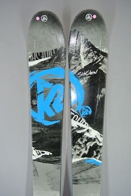 SKIS All Mountain/ Freeride- K2 SIDESHOW with MARKER GRIFFON bindings-181cm