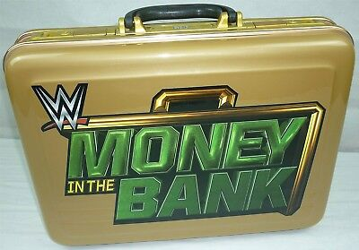 REPLICA WWE Wrestling MONEY IN THE BANK KOFFER Briefcase ACTUAL SIZE wwf wcw nxt