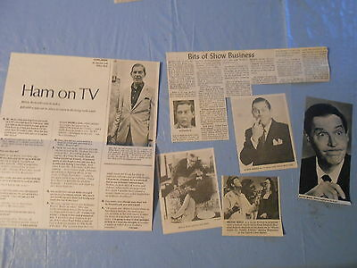 Milton Berle vintage    clippings #G1051