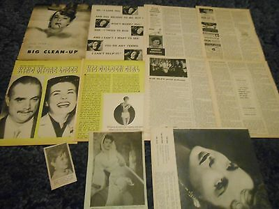 Jean Peters  clippings #P43