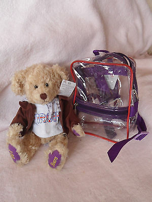 Virgin Atlantic Airlines Russ Bear 100 years exclusive collectable 'Dickie' new