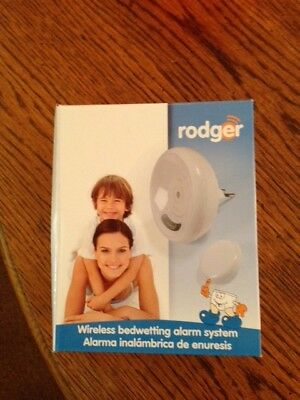 Rodger WIRELESS bedwetting Bed Wetting Tone Alarm System