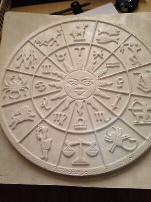 Large Plaster Casting Mould -  Zodiac