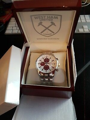 West Ham Watch - Limited Edition - New