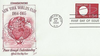 United States - New York World's Fair First Day Cover (1964) Fdc
