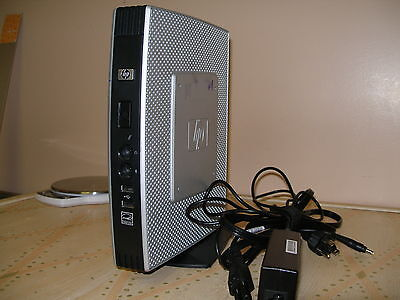 HP T5740e Thin Client N280 4GB RAM 8GB FLASH WES 7 with power adapter and stand
