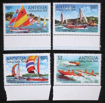Antigua - 1978 - Sailing Week - SG 576/579 - MNH Set