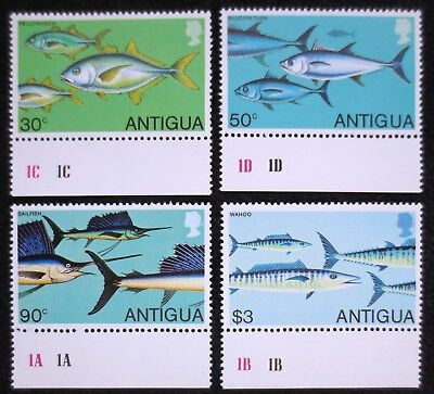 Antigua - 1979 - Fishes - SG 617/620 - MNH Set