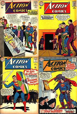 Action Comics Silver Age Lot - Four (4) Books!
