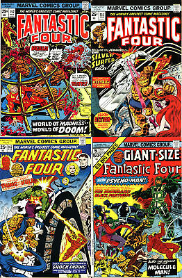 Fantastic Four Bronze Age Lot - Four (4) Books!