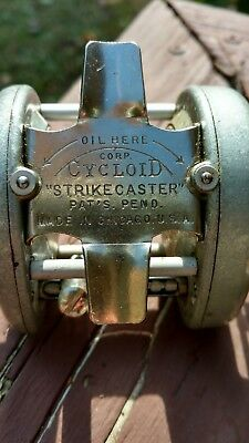 Cycloid Rare Strikecaster Reel Mint Vintage Bait Casting Fishing Htf