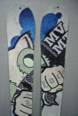 SKIS Twin-tip/Freestyle -MOVEMENT EL LOCO - 163cm TOP Freestyle Skis