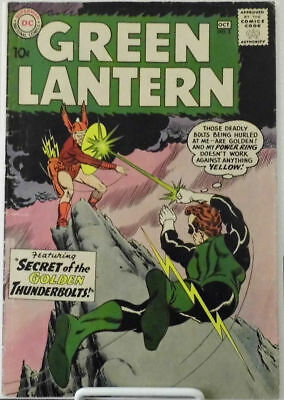 Green Lantern #2, 1960 ~ 8.0 Vf, Early Silver Age Dc Comic ~ First Pieface
