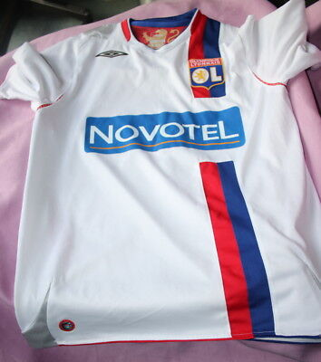 Olympic Lyon Extra Large Boys Football Kit - Shirt and Shorts Umbro