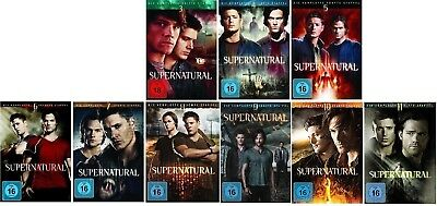 Supernatural Staffel 3-11 (3+4+5+6+7+8+9+10+11) DVD Set NEU OVP