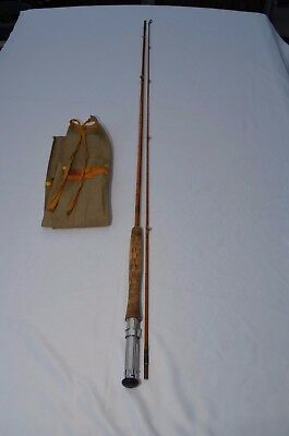 Sealey Split Cane Brook Fly Rod  8 Feet Made In England