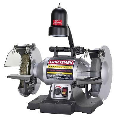 Craftsman Professional Variable Speed 8 Inch Bench Grinder