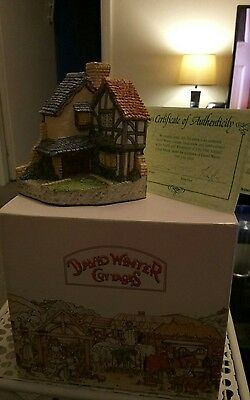 David Winter Cottages 15 Lawnside Road with Certificate of Authenticity