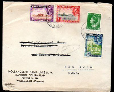 Curaçao: 1946 cover to USA from Willemstad