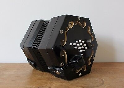 Jackie English Concertina by Concertina Connection with bag, excellent condition