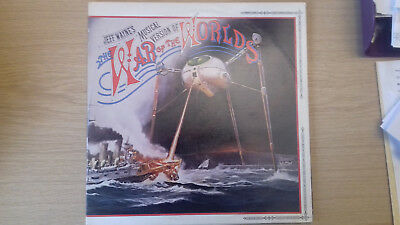 Double Lp 1978 Jeff Wayne's War Of The Worlds On Cbs Pc235290 96000 And Booklet