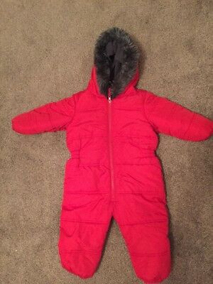 Next Boys Padded All in One Snowsuit Aged 18-24 Months