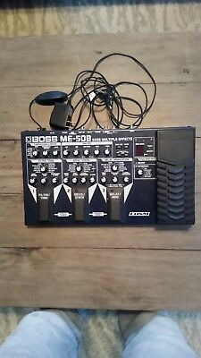 Used Boss ME-50B bass multiple effects pedal excellent condition