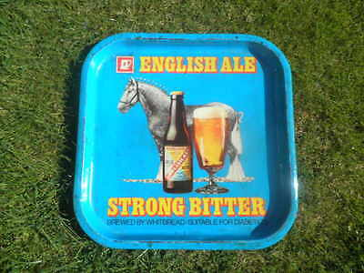 c 1950s WHITBREAD TRAY WITH HORSE.