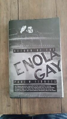 return of the enola gay signed by paul tibbets