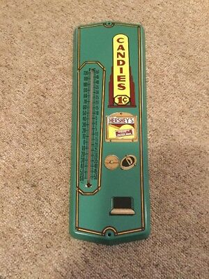 Hershey's Candies Metal Thermometer Advertising Sign