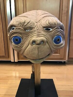 vintage 1982 Don Post Universal City E.T. extraterrestrial latex rubber mask