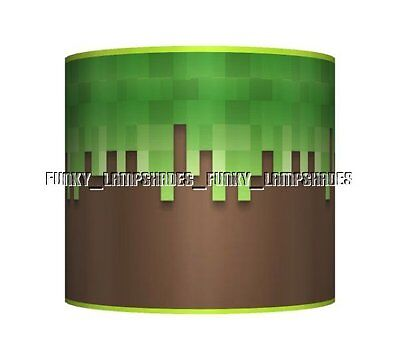 Grass & Mud Gaming / Gamer ☆ Boys Pixel Ceiling Lampshade ☆ Matches Duvet