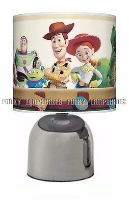 Toy Story ☆ Bedside Touch Lamp ☆ Boys / Girls Night Light ☆ Matches Duvet
