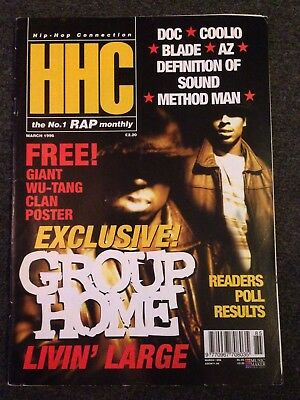 HHC Hiphop Connection Magazine 1996 No-85 Wu Tang Clan Rap Method Man