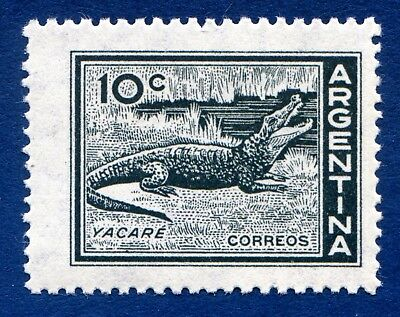 Argentina 1959 Crocodile / crocodylinae on a stamp Unmounted Mint