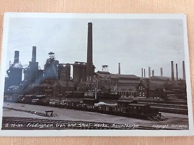 PC Industrial Scene, Frodingham Iron And Steel Works, Scunthorpe, 1920's