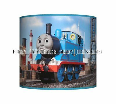 Thomas The Tank Engine ☆ Ceiling Lampshade ☆ Boys Bedroom Lamp Shade ☆