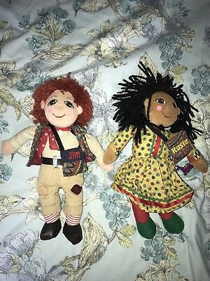 Rosie And Jim Dolls Great Condition Kids Dolls Very Cheap