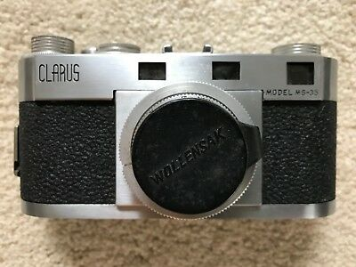 Clarus Model MS-35 - Wollensak 2 50mm lens with case