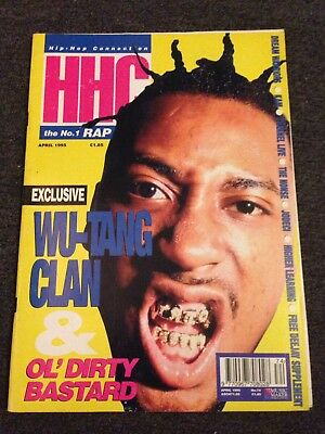 HHC Hiphop Connection Magazine April 1995 No.74 Wu Tang Clan