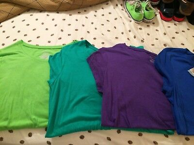 Lot Of 5 Women's T Shirts Short Sleeve Shirts L/XL *Target* *No Boundaries*