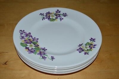 Royal Tuscan Bone China Woodland Violet Tea Plate x 5