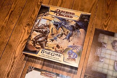 Dungeons and Dragons (D&D) Basic Game - Excellent Condition