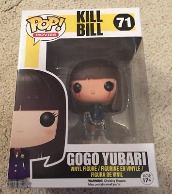 Funko Pop! - Movies - Kill Bill #71 Bloody Gogo Yubari Exclusive Figure Rare