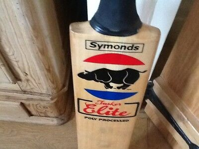 Symonds Rhino Tusker Elite Adult Cricket Bat - Poly Processed - English Willow